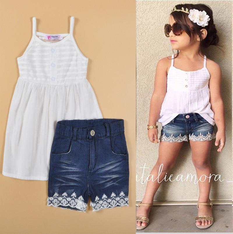 Buy Baby Girls Set Summer Style Fashion