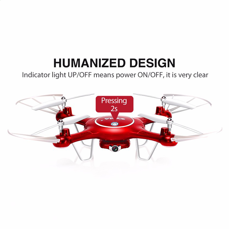 Syma X5UW RC Drone Quadrocopter With HD Camera Wifi FPV Real-time Drones SmartPhone Control Helicopter Dron With 4G Memory Card syma x5uw drone with wi fi camera hd 720 p real time transfer fpv quadcopter 2 4 g 4ch helicopter drone quadrocopter drones