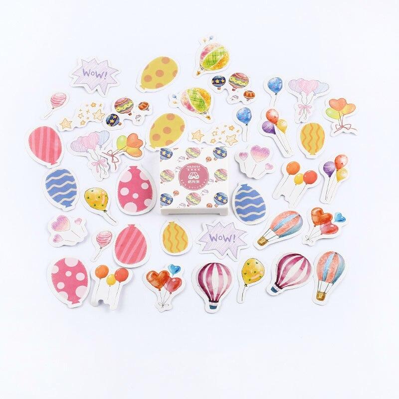 Mr. Бумаги 40 шт./кор. конфеты сказки деко наклейки для дневника Скрапбукинг планировщик японский Kawaii Декоративные Канцелярские наклейки - Цвет: A