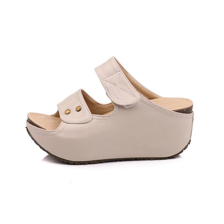 MLJUESE 2018 zapatillas de mujer estilo al aire libre de verano color - Zapatos de mujer - foto 3