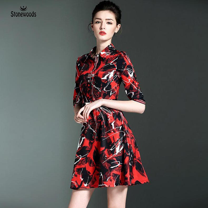 Summer Office Dress High Quality Floral Print Dress Was Thin Bodycon font b Shirt b font
