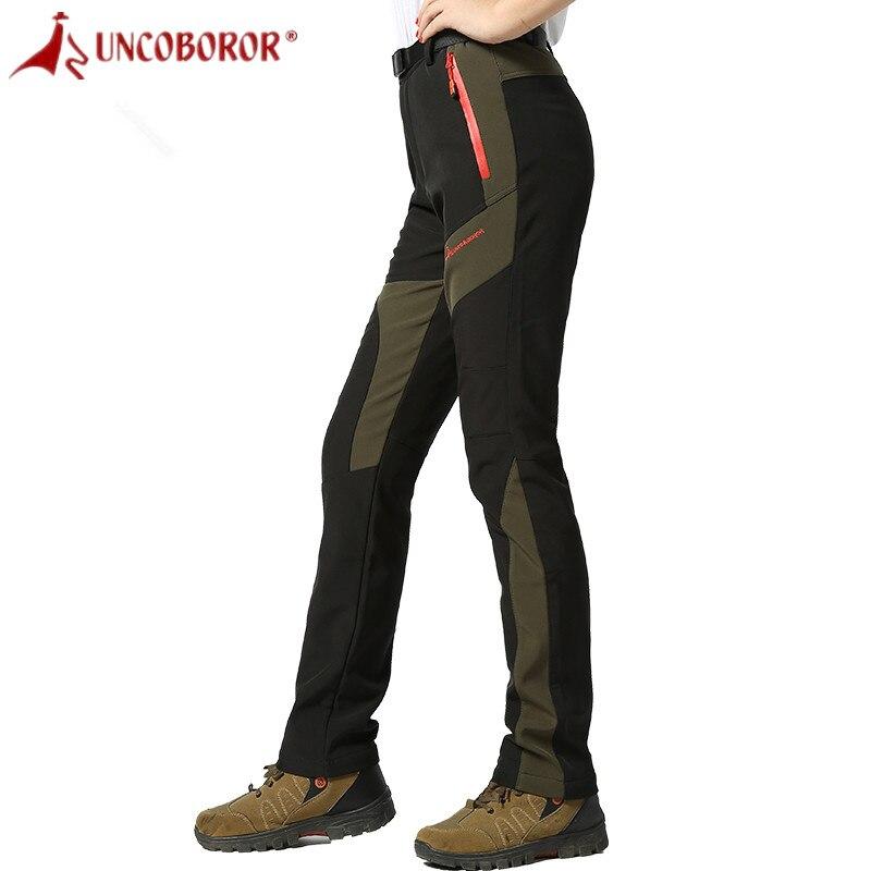 Étanche Hiver Femmes Pantalon Chaud Randonnée Pantalon Pour Femmes Ski Pantalon En Plein Air de Camping Pantalon Femmes Sport Pantalon Respirant