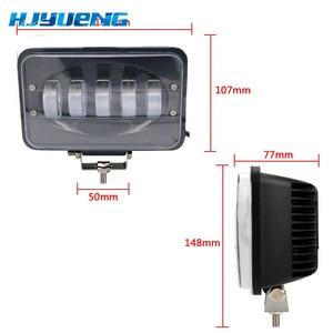 Image 2 - Car Led Light Bar 50W 6 inch LED Work Light Flood Driving Lamp for Car Truck Trailer SUV Offroads Boat 12V 24V 4X4 4WD