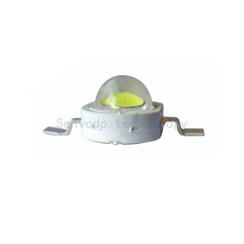 50X Высокое качество 3 Вт Высокая мощность светодиодные лампы бусины с Bridgelux 45mil чип
