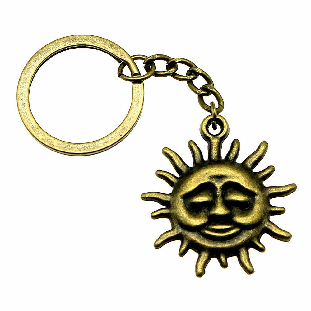 Брелок для мужчин от солнца Винтажные Ювелирные аксессуары Забавный подарок 36x33