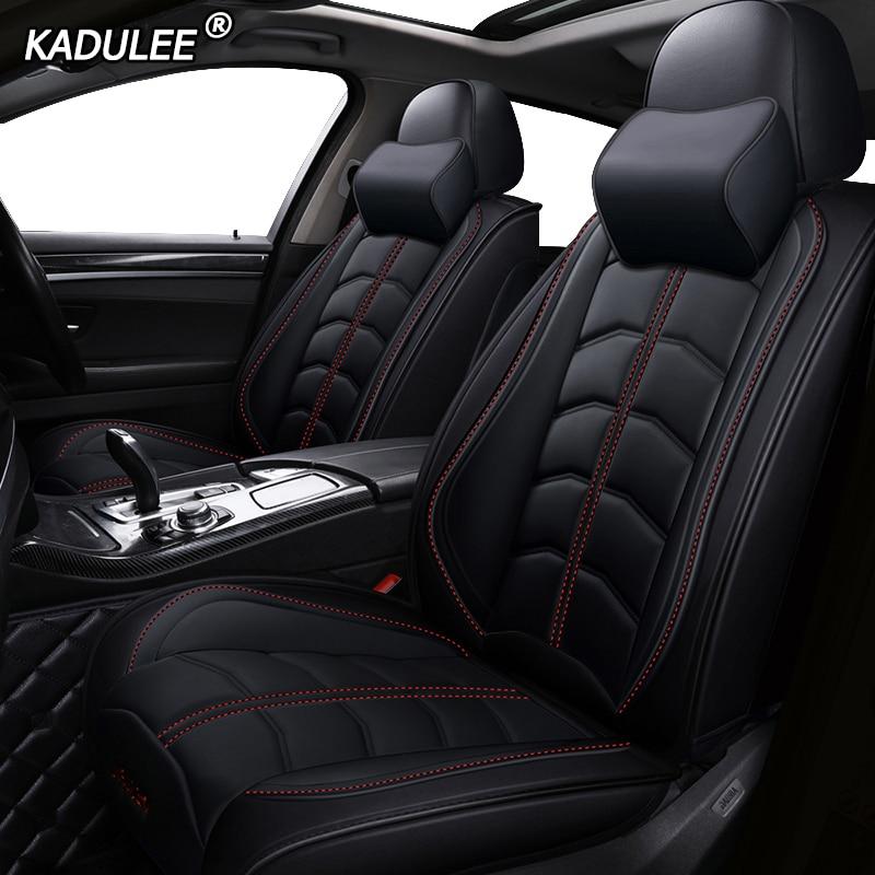 Awe Inspiring Us 138 05 45 Off Kadulee Luxury Leather Car Seat Cover For Nissan Qashqai Almera X Trail Classic Altima Juke Kicks Leaf Micra Murano Z51 Navara In Machost Co Dining Chair Design Ideas Machostcouk