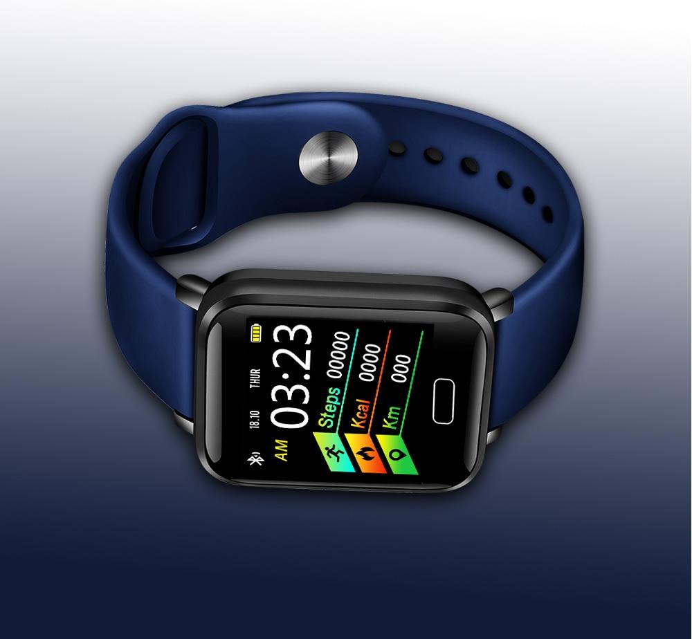 HTB10J1CaebviK0jSZFNq6yApXXaj LIGE Smart Bracelet Women IP67 Waterproof Fitness Tracker Wristband Pedometer Heart Rate Monitor Sport Smart watch Android ios
