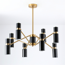 Postmodern Metal LED Chandelier Lighting Living Room Decoration Restaurant Kitchen Fixtures Luminaire Avize