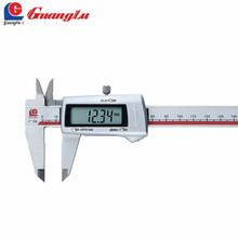 GUANGLU 0 150 200 300mm Digital Caliper Electronic Measurement Instruments 3V Battery Micrometer Vernier Caliper Measure