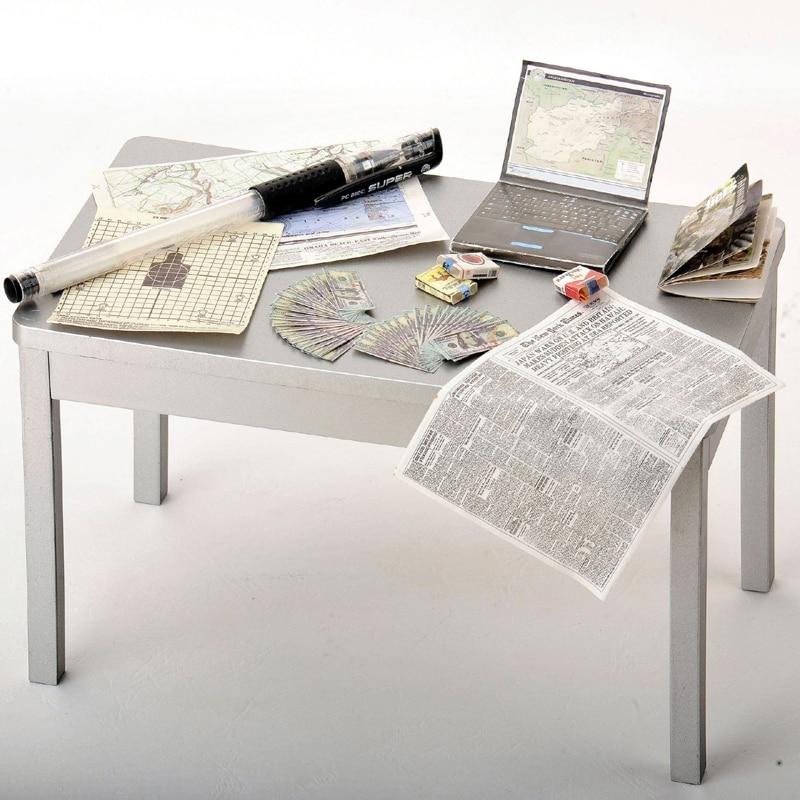 5 Sätze 1//6 Papier Militär Computer Zeitung Set für 12 /'/' Action Figure
