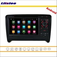 Liislee автомобиля Android мультимедиа для Audi TT MK2 2006 ~ 2011 стерео Радио видео аудио cd dvd плеер GPS Географические карты navi навигация Системы