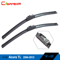 Free Shipping Car Soft Rubber Wiper Blades Vehicle Front Windscreen Windshield For TL 2004 2013 2Pcs