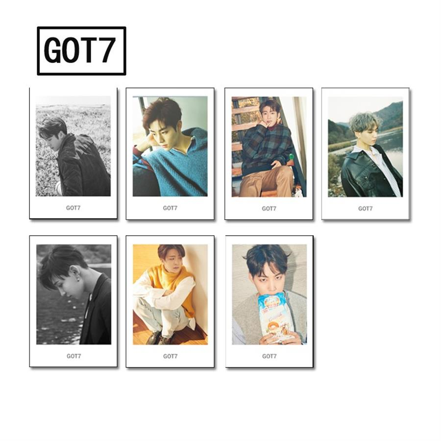 Jewelry & Accessories Jewelry Findings & Components Strict Kpop Got7 Album Polaroid Lomo Photo Card Mark Jackson Jb Collective Hd Photocard Cards Poster With Metal Box