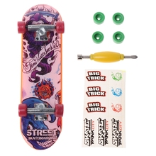 Top Selling Alloy Stand Finger Skateboard FingerBoard Skate Trucks Kid Toys Children Gift