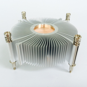 Image 5 - Cpuクーラーラジエーターためにヒートシンクの冷却インテルLGA1155/1156 93*93*35 ミリメートルアルミラジエーターファン冷却コンピュータヒートシンク
