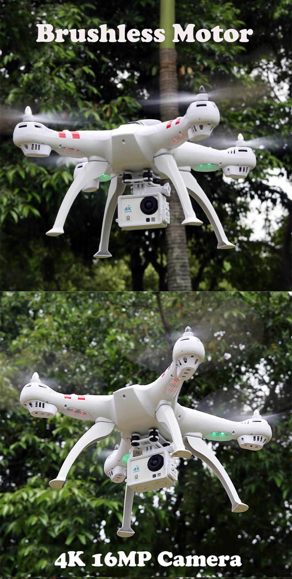 X16 rc drones with camera hd dron GPS height 500 meters fly distance Fpv quadcopter rc helicopter Brushless Motor 4K 1600W Toys 3
