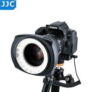Image 3 - JJC DSLR Camera Flash Video Speedlite Inside/Outside Half/Whole LED Macro Ring Light for NIKON/CANON/SONY/Olymous/Panasonic