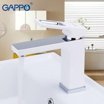 GAPPO Basin Faucet Mixer Cuisine Tap Waterfall Bathroom Faucet Sink Mixer Washbasin Faucet Chrome Torneira Banheiro 1