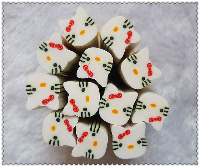 Big nail art polymer clay mobile beauty materials fruit of clay bar slice Large animal series