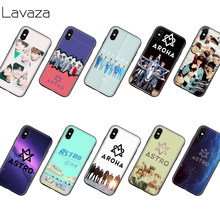 Lavaza KPOP ASTRO Silicone Soft Case voor iPhone XS Max XR X 8 7 6 6 S Plus 5 5 S SE(China)