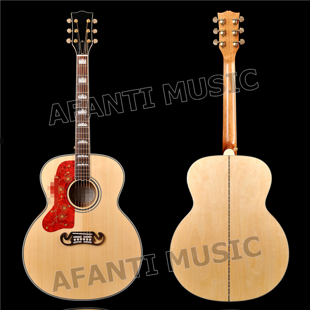 43 inch AFT-J200 Spruce top, Left-hand Acoustic guitar with EQ (AFT-J200)