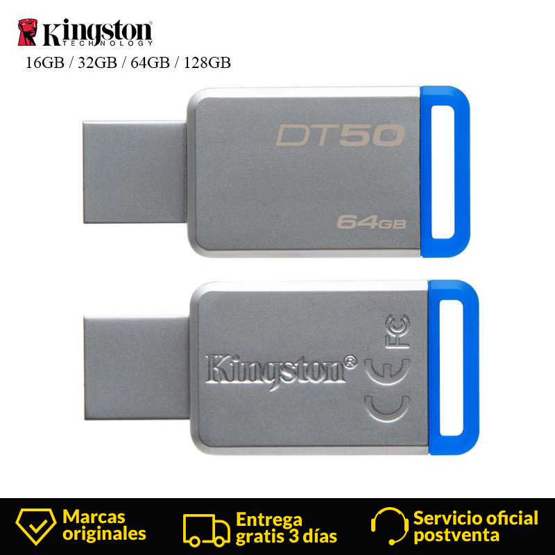 <font><b>Kingston</b></font> Digitalen usb-DT50 USB 3.1 High-Speed Flash-Stick <font><b>pen</b></font> <font><b>drive</b></font> 16 GB 32 GB 64 GB 128 GB reale Kapazität Speicher usb stick image