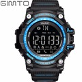 GIMTO Sport Watch Men Silicone LED Smart Watch Pedometer Calories Chronograph Military Waterproof electronic Digital Wristwatch