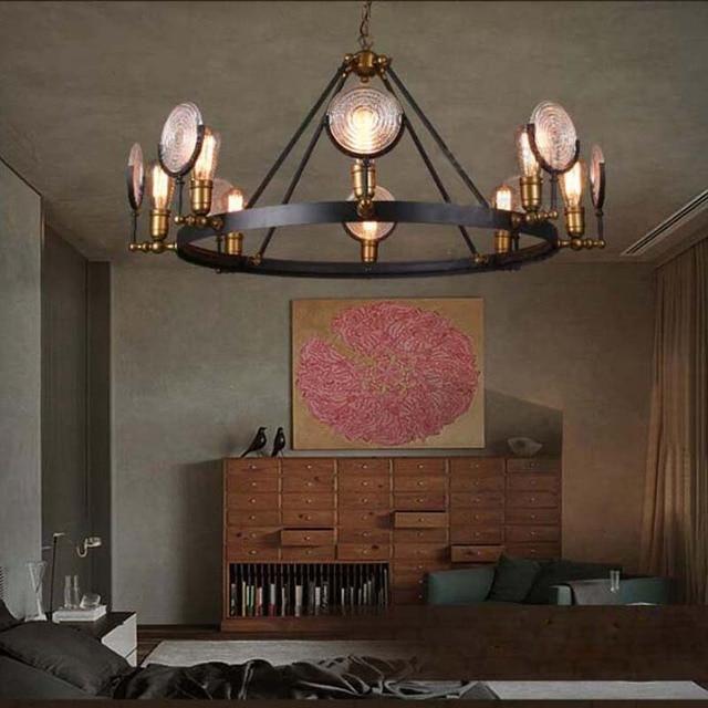 Led Retro Vintage Home Light Fixtures E27 Edison Bulb Rustic Pendant Lights Lamp For