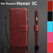 Huawei Honor 3C card holder cover case for Huawei Honor 3C leather phone case ultra thin wallet flip cover