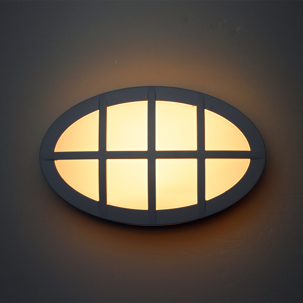 Grid outdoor wall sconce lighting led exterior wall light for Applique exterieur up down
