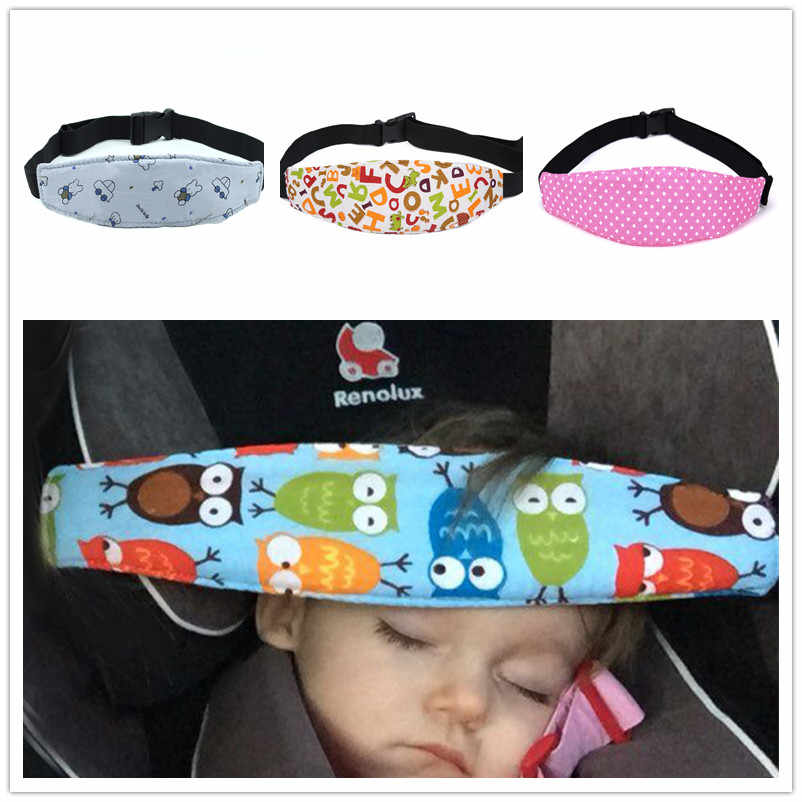 Baby Car Safety Seat Sleep Positioner Infants And Toddler Head Support Pram Stroller Accessories Kids Adjustable Fastening Belts