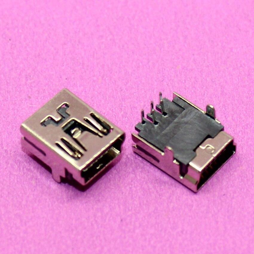 Yuxi Jack-Socket-Connector Mini-Usb for 4-Foot DIP 5pin Female V3-Port GPS MP4 MP3 New