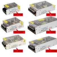 DC 12 В 3A, 5A, 6a, 10A, 15A, 20A Освещение трансформатор, AC100-220V светодиодный драйвер Адаптеры питания для прокладки СИД 3528 5050 источника питания