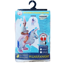 UNICORN Unisex Funny Costume Self Inflatable Fan