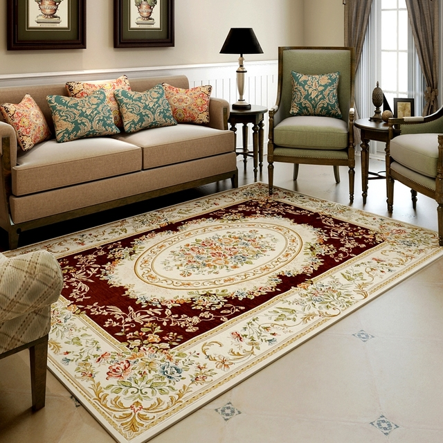 Merveilleux Europe Palace Carpets For Living Room Home Bedroom Rugs And Carpets Coffee  Table Area Rug Luxury