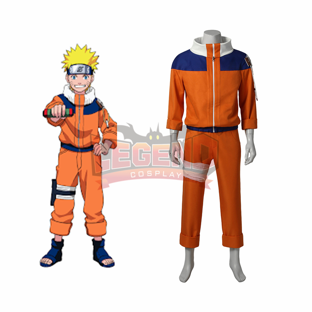 Anime Naruto Naruto Uzumaki Cosplay Costume adult outfit custom made