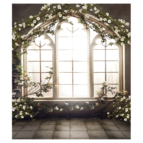 Windows Indoor 5x7ft Wedding Children Baby Photo Studio Decor Backgrounds Computer Painted Vinyl Cloth Photography Backdrop