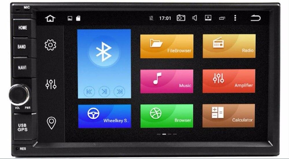 Universel 2 Din Quad Core Android 8.0 Voiture DVD GPS Pour Nissan Qashqai Almera Sentra Pathfinder Tiida Altima Primera 2000 -2014