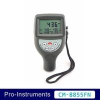 Landtek CM 8855FN Brand New Portable 2 in 1 Type Coating Thickness Gauge Paint Meter OD
