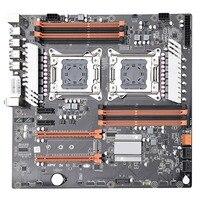 X79 двойной процессор Lga2011 материнская плата Поддержка для Двухъядерный Intel E5 2689 2670 Ddr3 1333/1600/1866 МГц 256 ГБ M.2 Nvme Sata3 Usb3.0 E по особым поручениям