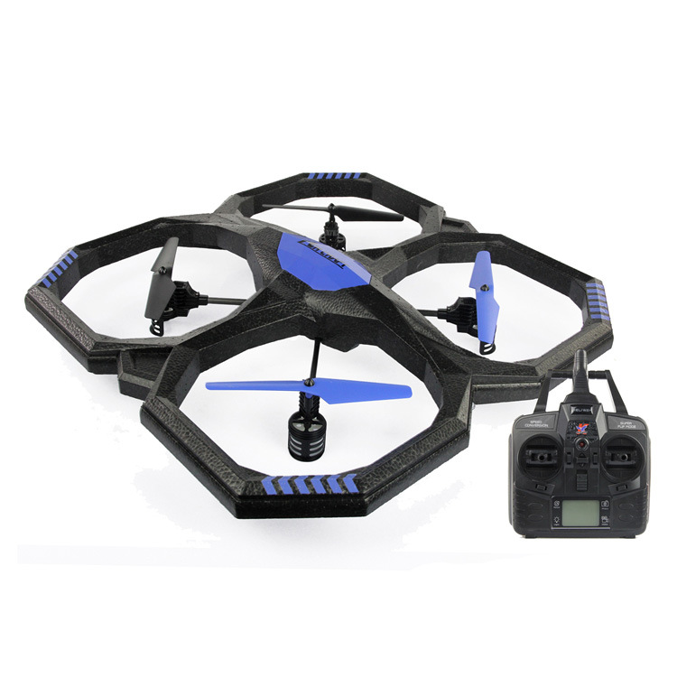 Professional RC big Quadcopter Remote Control Helicopter 52cm 4CH Radio Big UFO with colorful flashing LED Drone vs v323 as gift  цены
