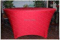 דובדבן אדום ספנדקס לוח כיסוי / מפת שולחן לייקרה / אבנט כיסא / כיסא כיסוי / מפיות למסיבת חתונה מלון משתה קישוטים לבית