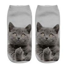 2Pairs Hot-selling printed socks Big childrens cartoon three-dimensional Animal cats 3D boat  wholesale T02
