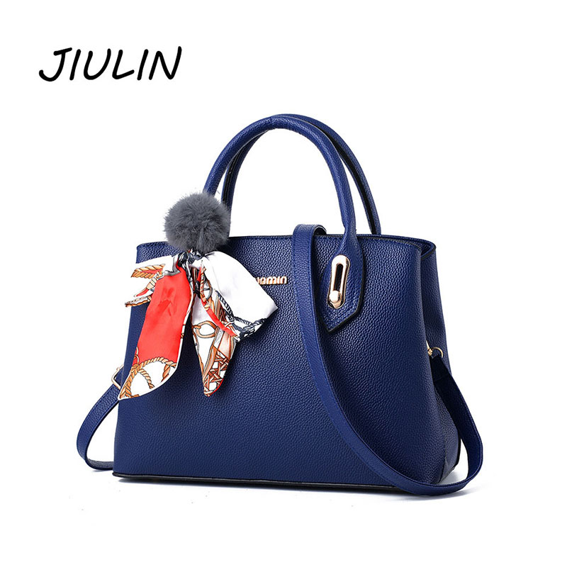 JIULIN Handbags Women Famous Brands Luxury Designer Shoulder Bag Leather Purses and Handbags Strap Organizer Large Capacity Tote