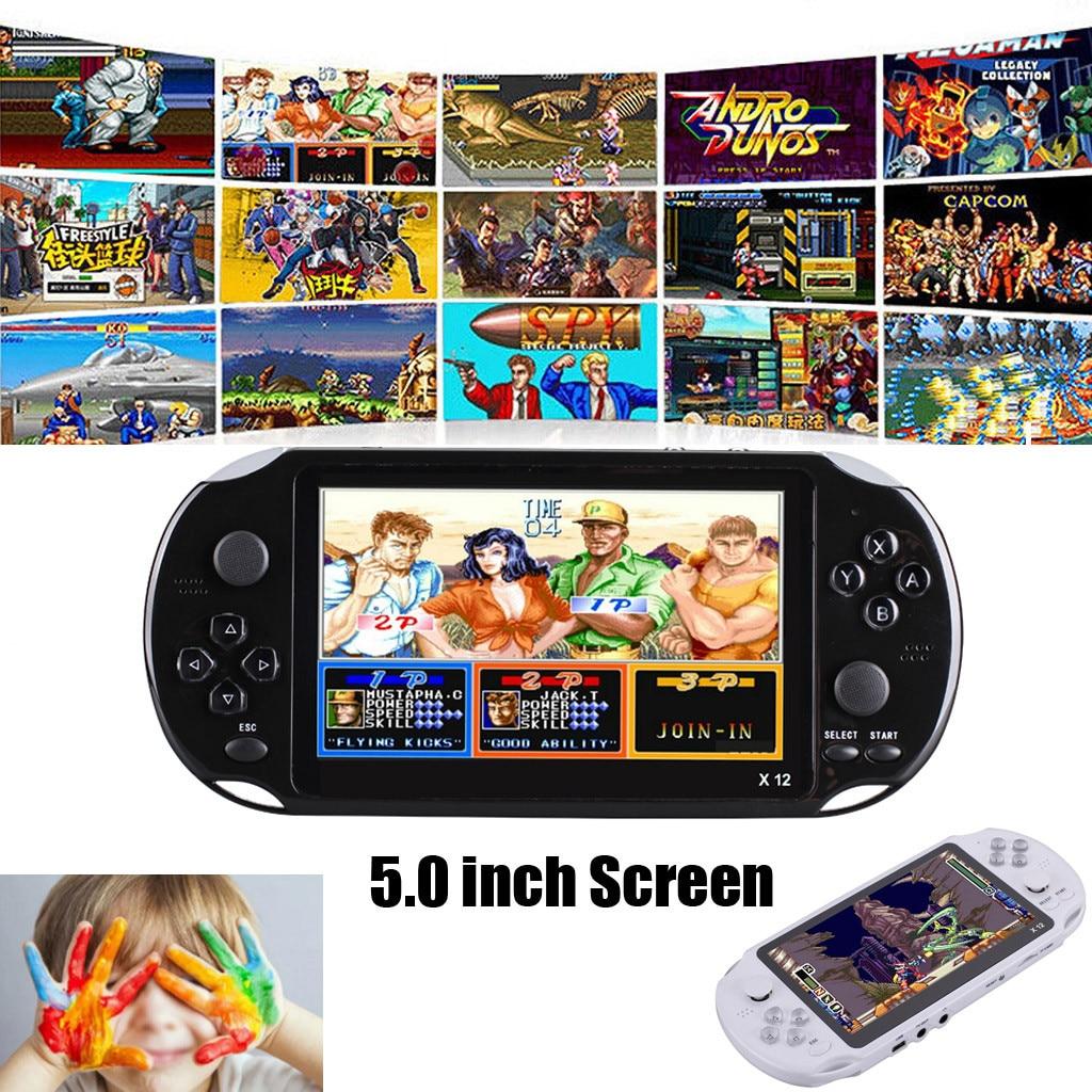 Jeu vidéo rétro classique Console de jeu Portable Portable 800 intégré 5.1 pouces jeux MP5 joueur de jeu *