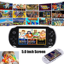 Video Game Retro Classic Game Console Handheld Portable 800 Built-in 5.1 Inch Games MP5 game player *