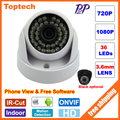 HD Cámara IP 720 P 1080 P 2MP Cámara de Interior de la Bóveda de Vigilancia CCTV cámara de seguridad de red ip onvif 2.0 p2p xmeye android iphone ver