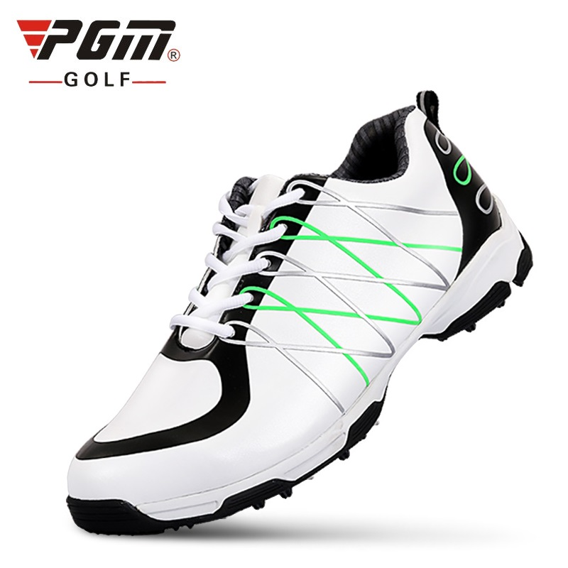 PGM Mens Golf Shoes 3D Print Waterproof Non-Spikes Anti-Skid Men Microfiber Leather Sneakers Sports Shoes A956PGM Mens Golf Shoes 3D Print Waterproof Non-Spikes Anti-Skid Men Microfiber Leather Sneakers Sports Shoes A956