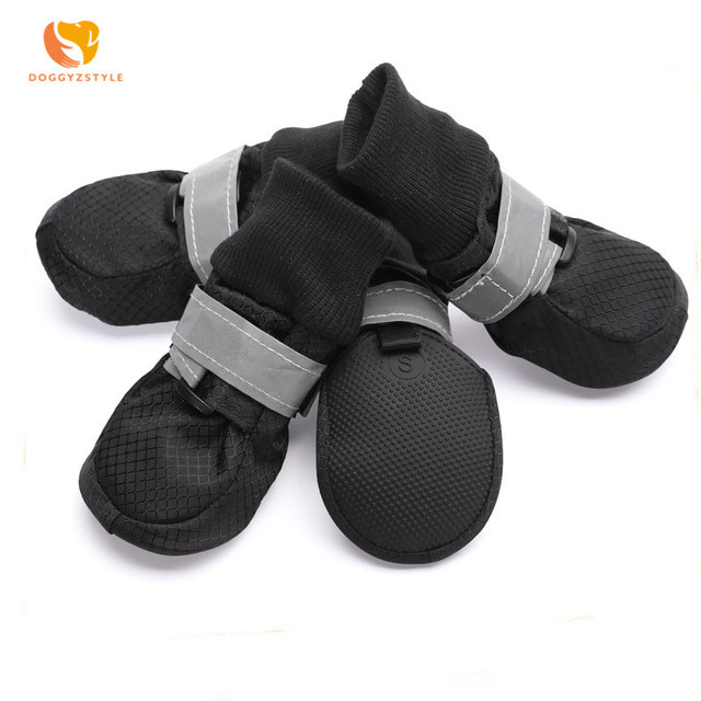 Perro caminando zapatos impermeable y transpirable Zapatos de deporte, zapatos de perro de Mascota de primavera y otoño calzado al aire libre S, M, L, XL, XXL DOGGYZSTYLE