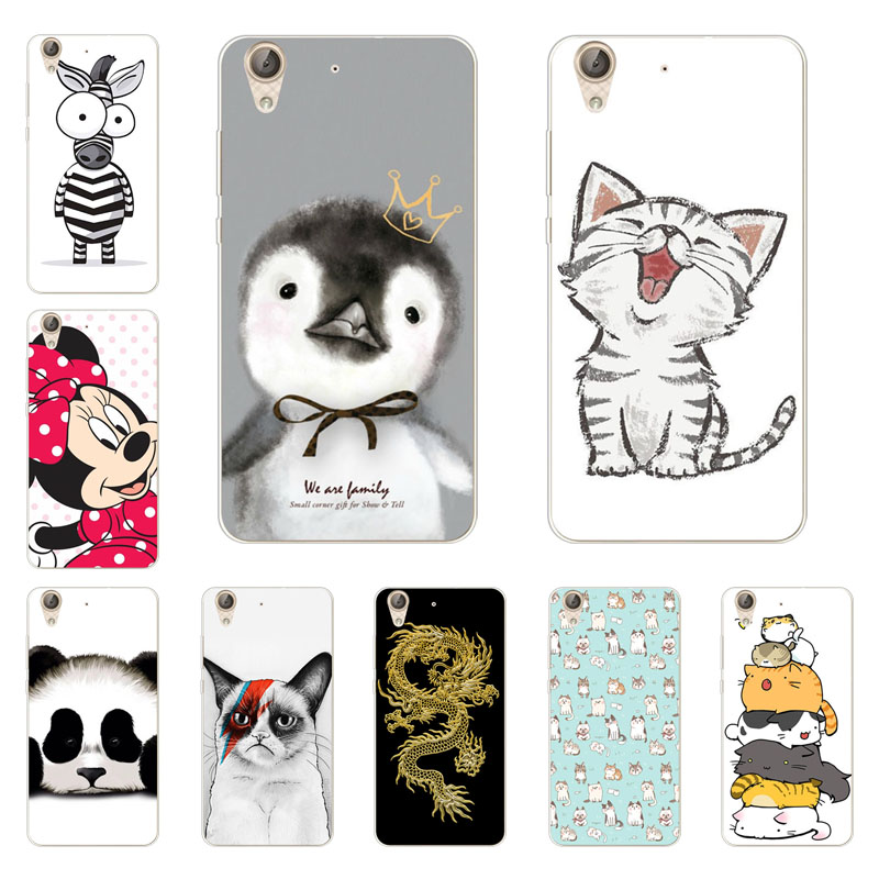 Huawei Y6 Ii Case,Silicon Super Cat Painting Soft TPU Back Cover For Huawei Y6 Ii Y6II Y6 2  Protect Phone Shell